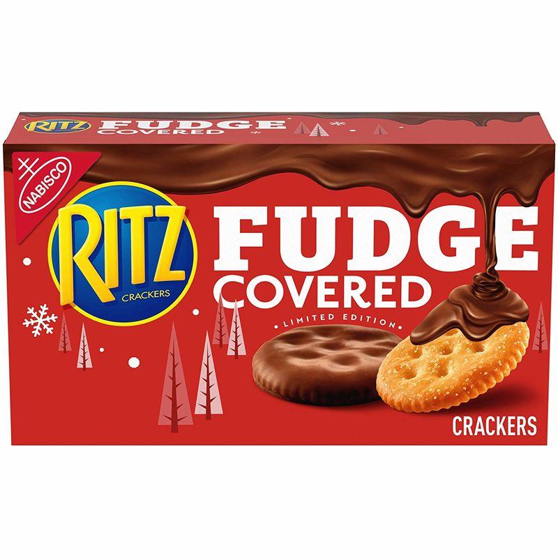 Fudge-Covered Cheese Crackers