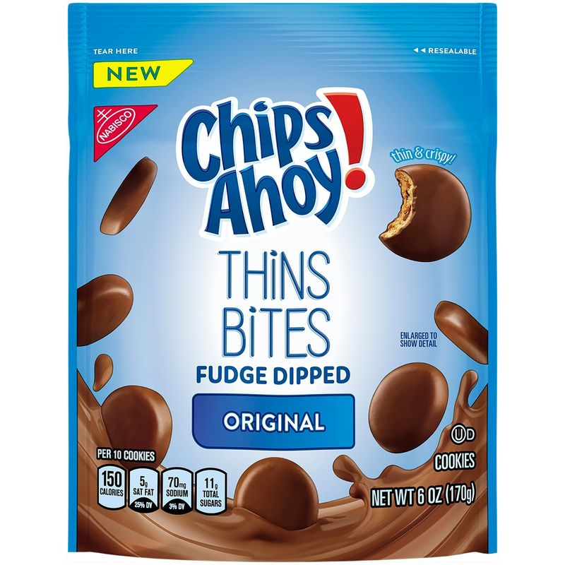 Fudge-Dipped Cookie Bites