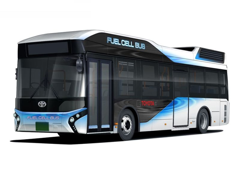 Hydrogen Fuel Cell Buses