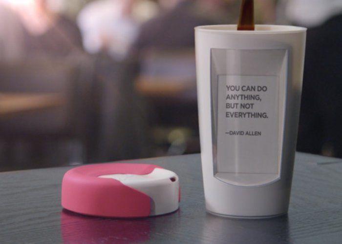 Heat-Powered Display Coffee Mugs