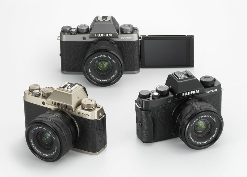 Classically Designed Budget Cameras
