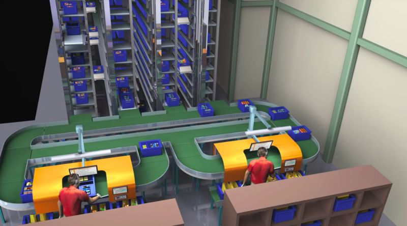 Micro Fulfillment Centers : Fulfillment Center