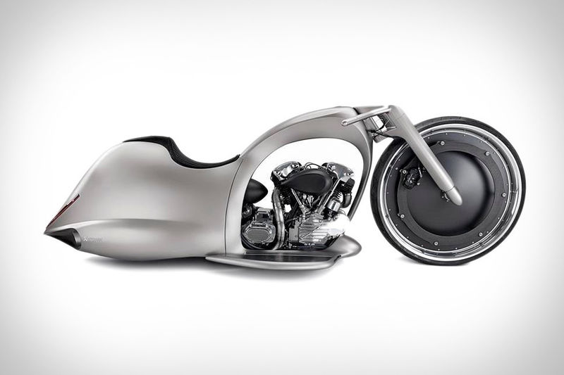Wheel-Encased Superbikes