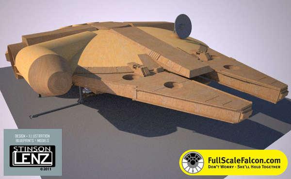 Sizeable Sci-Fi Models