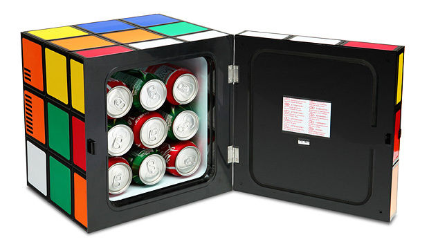 puzzle cube fridges fun mini fridge