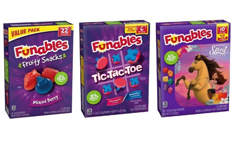 Play-Focused Fruit Snacks