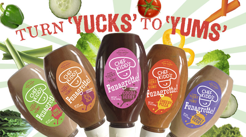 Pizza-Flavored Salad Dressings