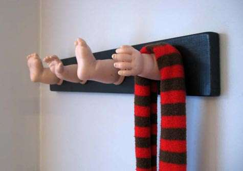 Dismembered Dolls for Walls
