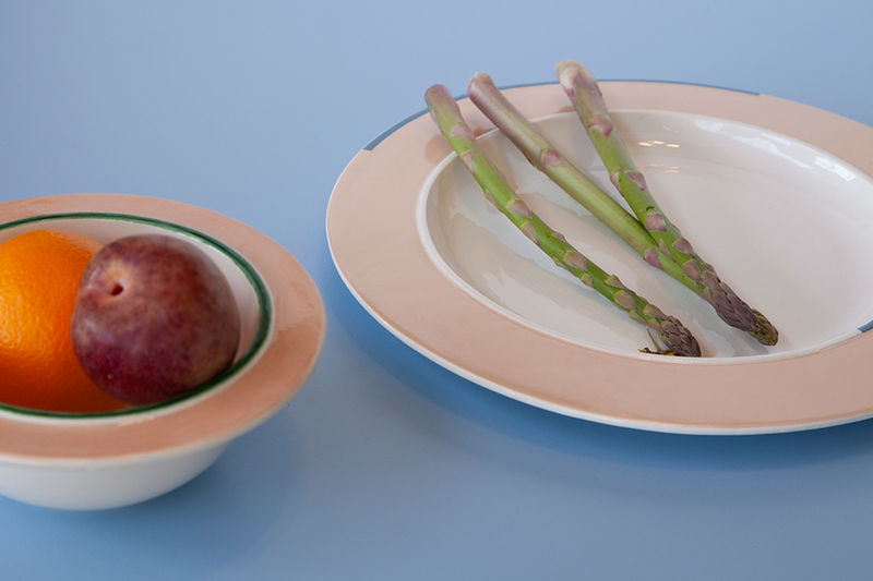 Helpfully Accented Functional Tableware