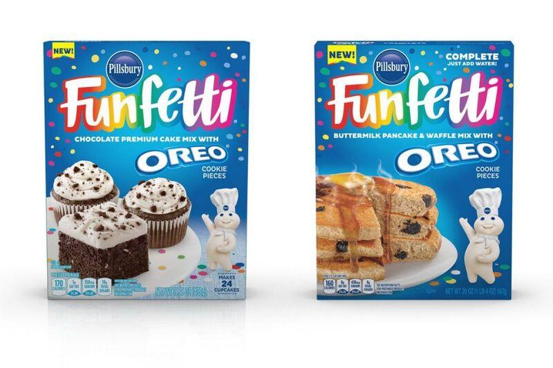 Cookie-Studded Pancake Mixes