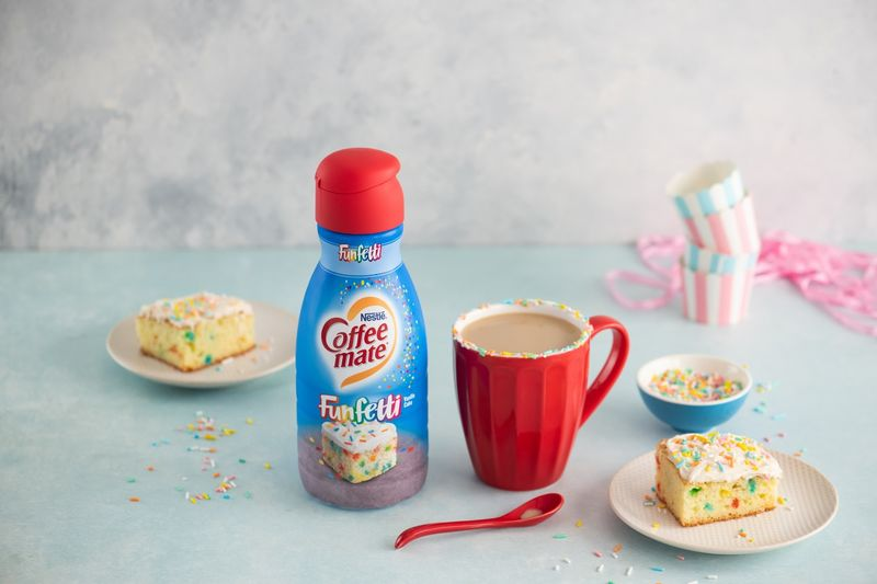 Birthday Cake Coffee Creamers