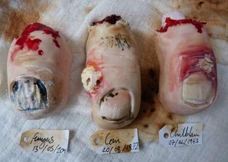 Frightful Foot Desserts