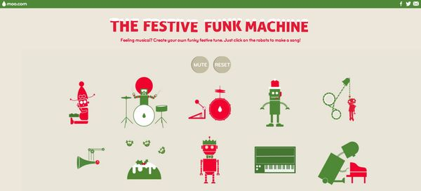 Festive Musical Robot Soundboards