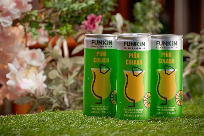 Tropical Nitro-Infused Canned Cocktails