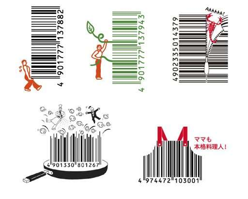 Funky Barcodes