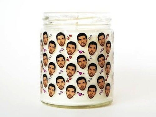 Celebrity-Adorned Candles
