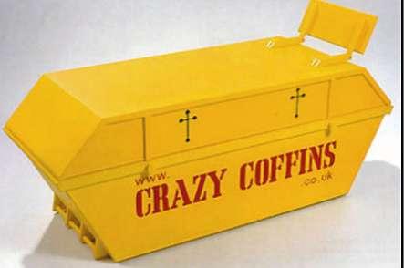 Funky Designer Coffins
