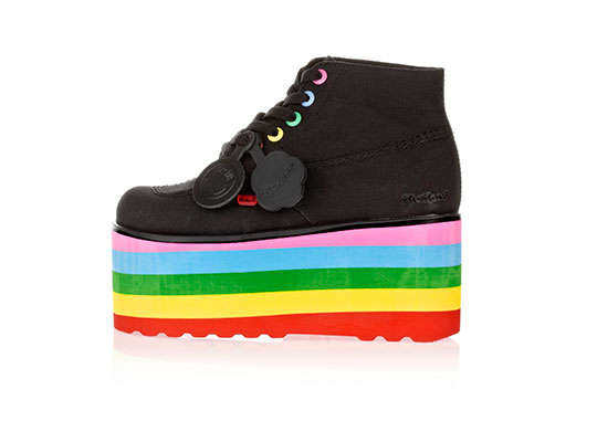 5ded3b81856 Glittery Flamboyant Footwear