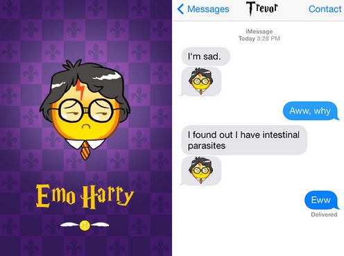 Magical Wizard-Edition Emoticons