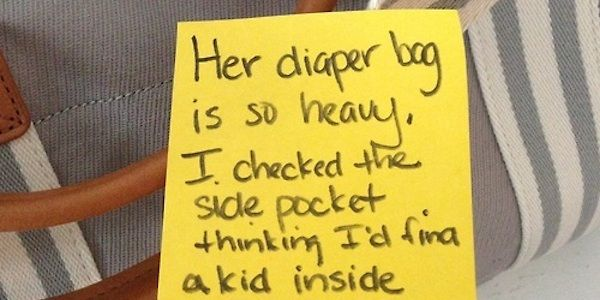 Parenting Post-It Notes