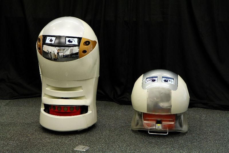 Comedic Robot Duos