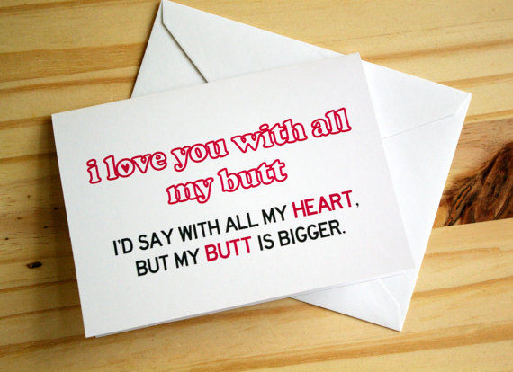 Immature Valentine's Day Cards