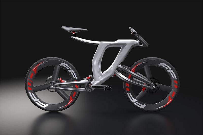 Lightweight 3D-Printed Bikes