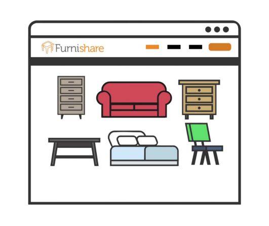 Furniture Sharing Startups