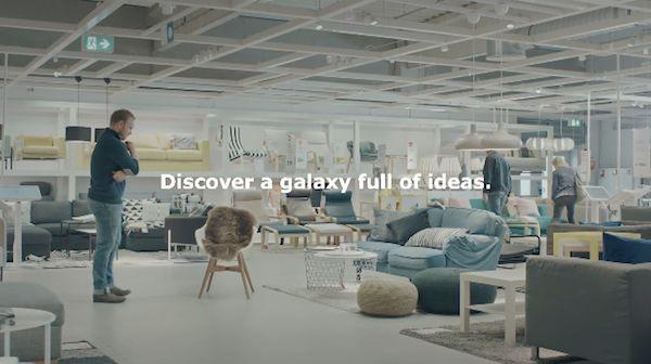 Sci-Fi-Inspired Furniture Campaigns