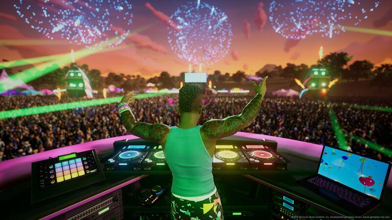 Digital Music Festival Games