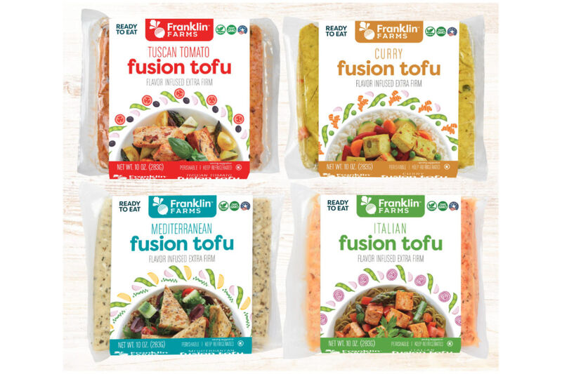 Flavor-Infused Tofu Blocks