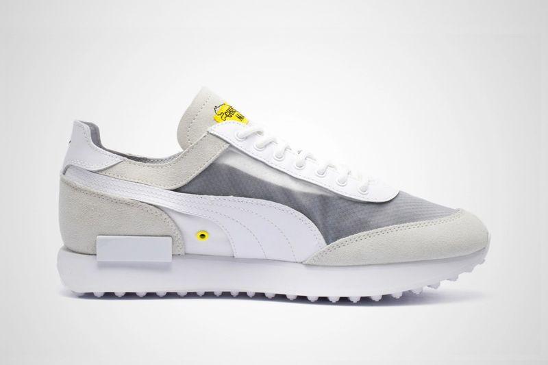 Retro-Futuristic Collaborative Sneakers