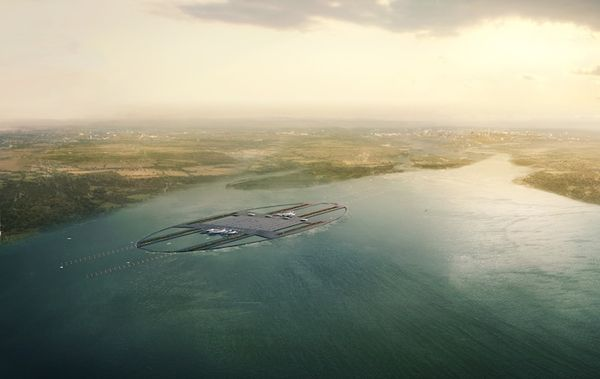 Visionary Floating Airports