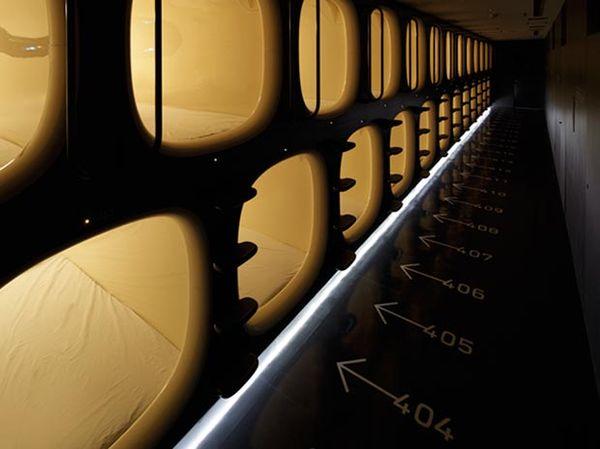 Futuristic Capsule Hotels