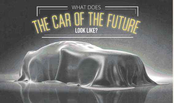 Futuristic Auto Infographics