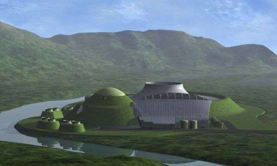 Futuristic Energy Plants