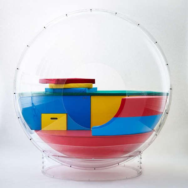 Futuristic Livable Spheres