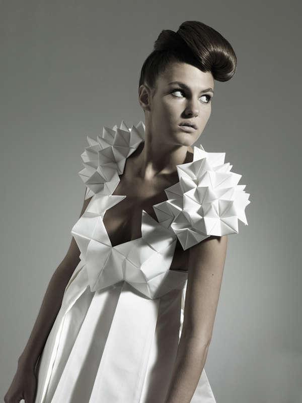 Futuristic Geometric Dresses