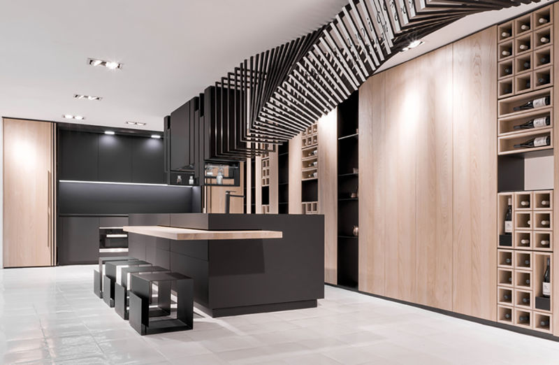 25 Futuristic Kitchen Designs