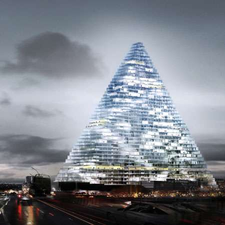 Eco-Friendly Paris Pyramids
