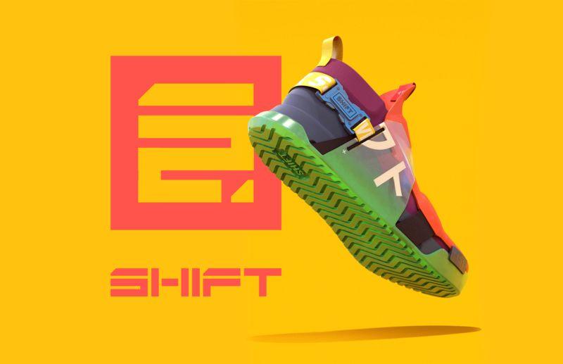 Colourful Futuristic Sneaker Concepts