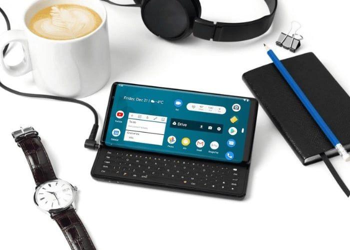 Sliding Keyboard-Equipped Smartphones