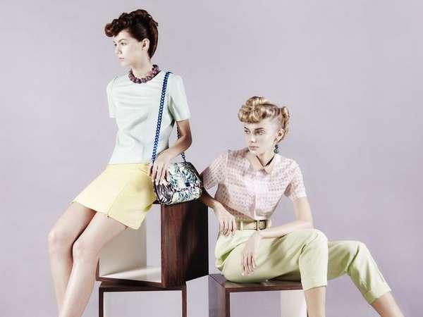 Summery Retro Fashion
