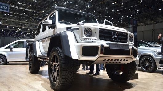 Intimidating Off Road Vehicles G500 4x4 Squared