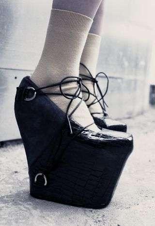Fear-Inducing Footwear