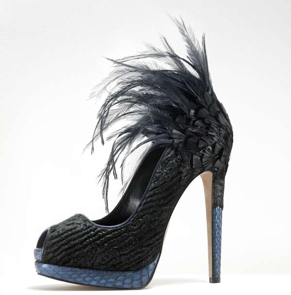 Darkly Exotic Shoes
