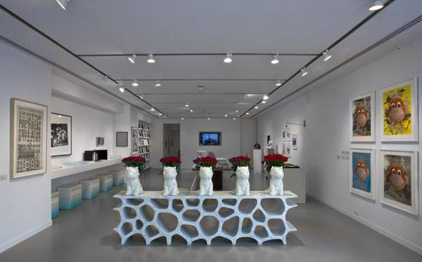 Artistic Art Shops The Gagosian Gallery Retail Shop Is As