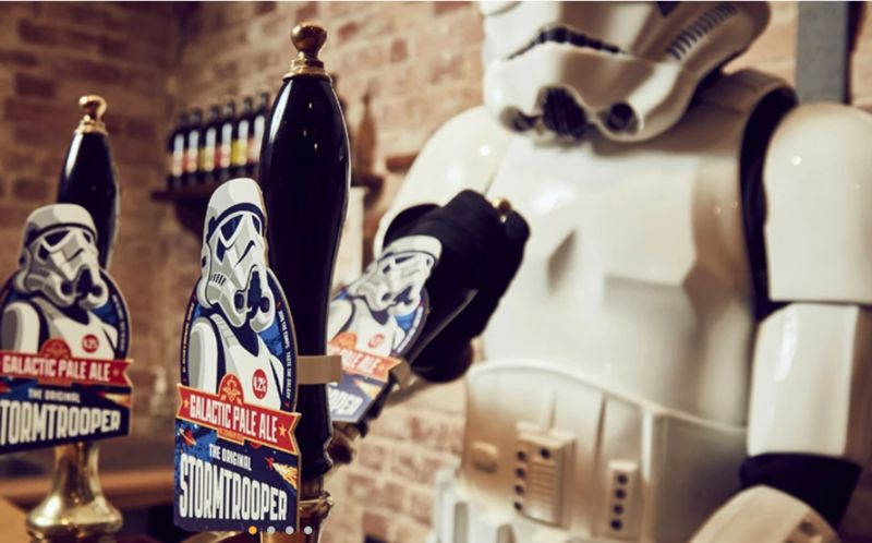 Branded Sci-Fi-Themed Beers