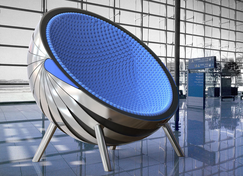 Modernist Cocoon Seating