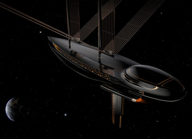 3D-Printed Space Sailboats